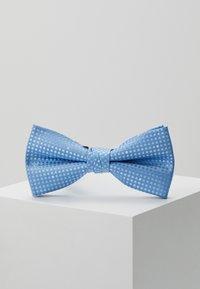 Jack & Jones - JACSANTANDER BOW TIE - Bow tie - cashmere blue/white - 2