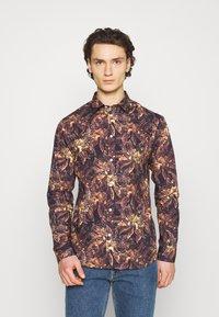 Anerkjendt - Overhemd - black/yellow - 0