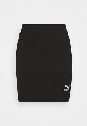 CLASSICS SKIRT - Minifalda - black