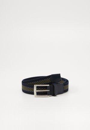 Belt - marine/olive