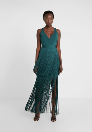 FRINGE DRESS - Cocktail dress / Party dress - bright elm