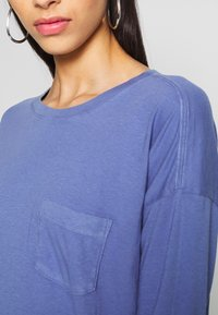Gap Tall - AUTH BOXY TEE - Long sleeved top - larkspur - 4