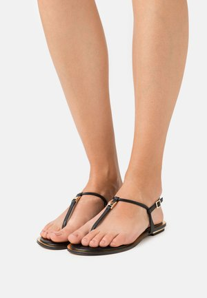 FANNING THONG - Sandals - black