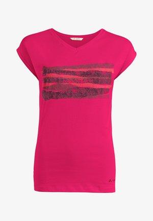 Print T-shirt - bramble