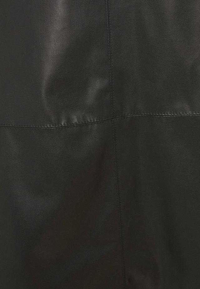 A-linjainen hame - black