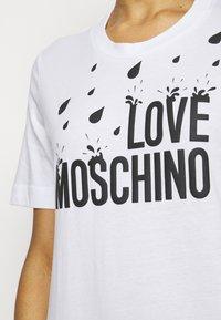 Love Moschino - Jersey dress - optical white - 4