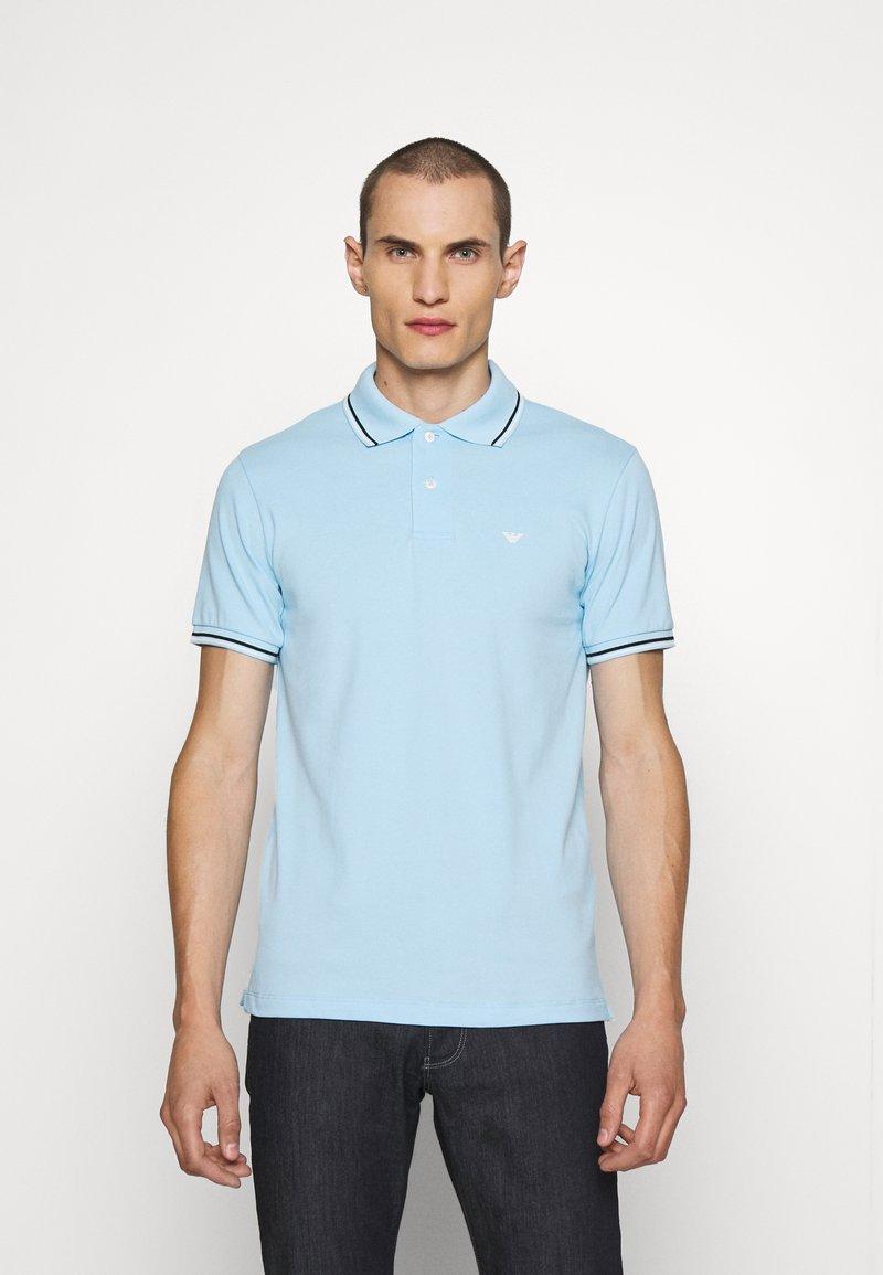Emporio Armani - Polo shirt - baby blue