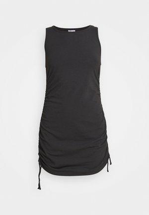 SHORT DRESS  - Jerseykjole - black