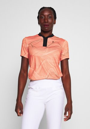 TURF ZIP - Polo shirt - orange