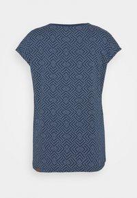 Ragwear Plus - DIONE - T-shirt imprimé - indigo - 6