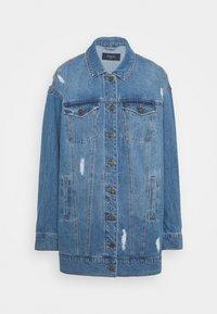 Noisy May Tall - NMFIONA JACKET - Denim jacket - light blue denim - 4