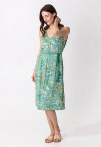 Indiska - INA - Denní šaty - green - 1