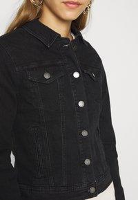 JDY - JDYNEWWINNER JACKET BOX - Denim jacket - black denim - 5