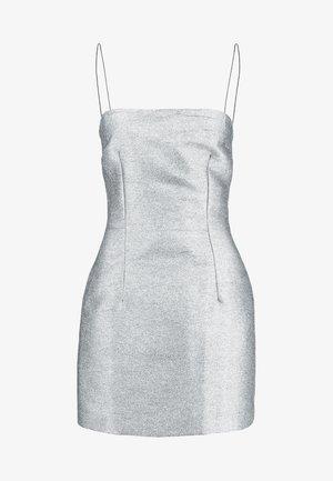LADY SPARKLE MINI DRESS - Cocktailjurk - metallic