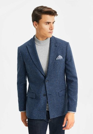 SLIM FIT  - Blazer jacket - all-over print