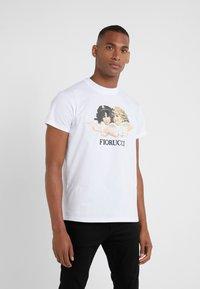 Fiorucci - VINTAGE ANGELS - Triko spotiskem - white - 0