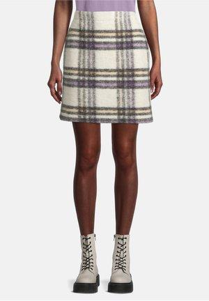 Mini skirt - multi-coloured