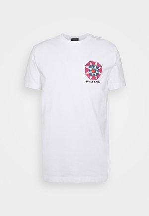 GRAPHIC - Print T-shirt - denim white