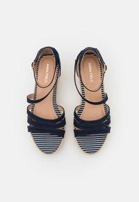 Anna Field - Platform sandals - blue - 4