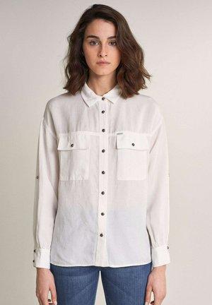 GEORGIA  - Button-down blouse - beige