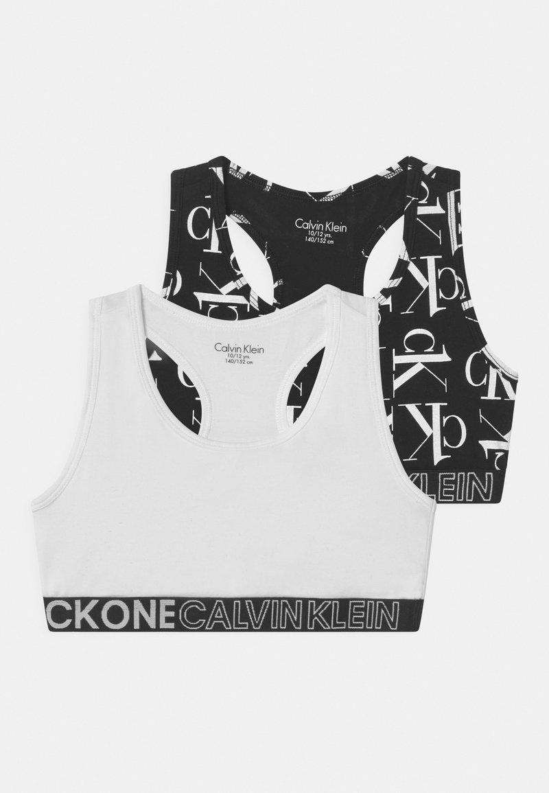 Calvin Klein Underwear - 2 PACK - Bustier - black/white