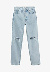 Mango - Relaxed fit jeans - light blue - 6