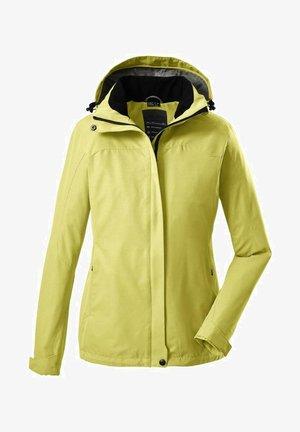 Waterproof jacket - yellow