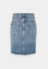 Even&Odd Tall - Minikjol - light blue denim - 1