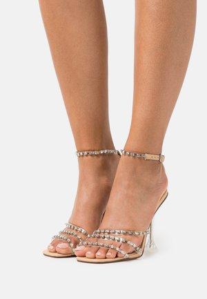 SIYA - Sandaler med høye hæler - nude