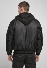 Brandit - HOODED  - Light jacket - black - 2