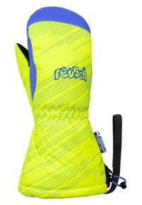Reusch - Mittens - neon yellow brilliant blu - 1