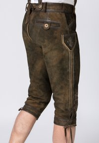 Stockerpoint - JUSTIN - Leather trousers - bison - 5