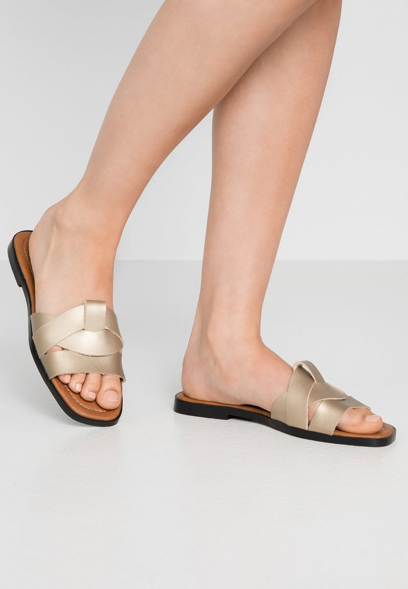 Trendyol - Mules - gold