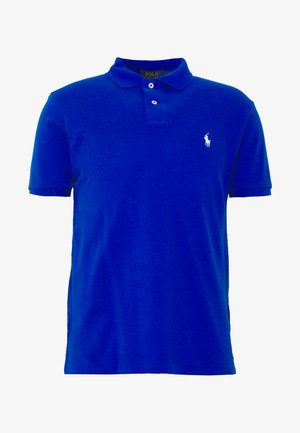 SLIM FIT MODEL - Polo - pacific royal