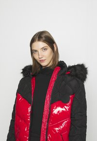 River Island - Winter coat - red/black - 5