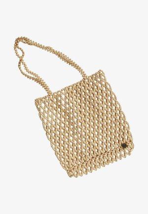 SALTY BLONDE STRUNG TOGETHER - Handbag - natural