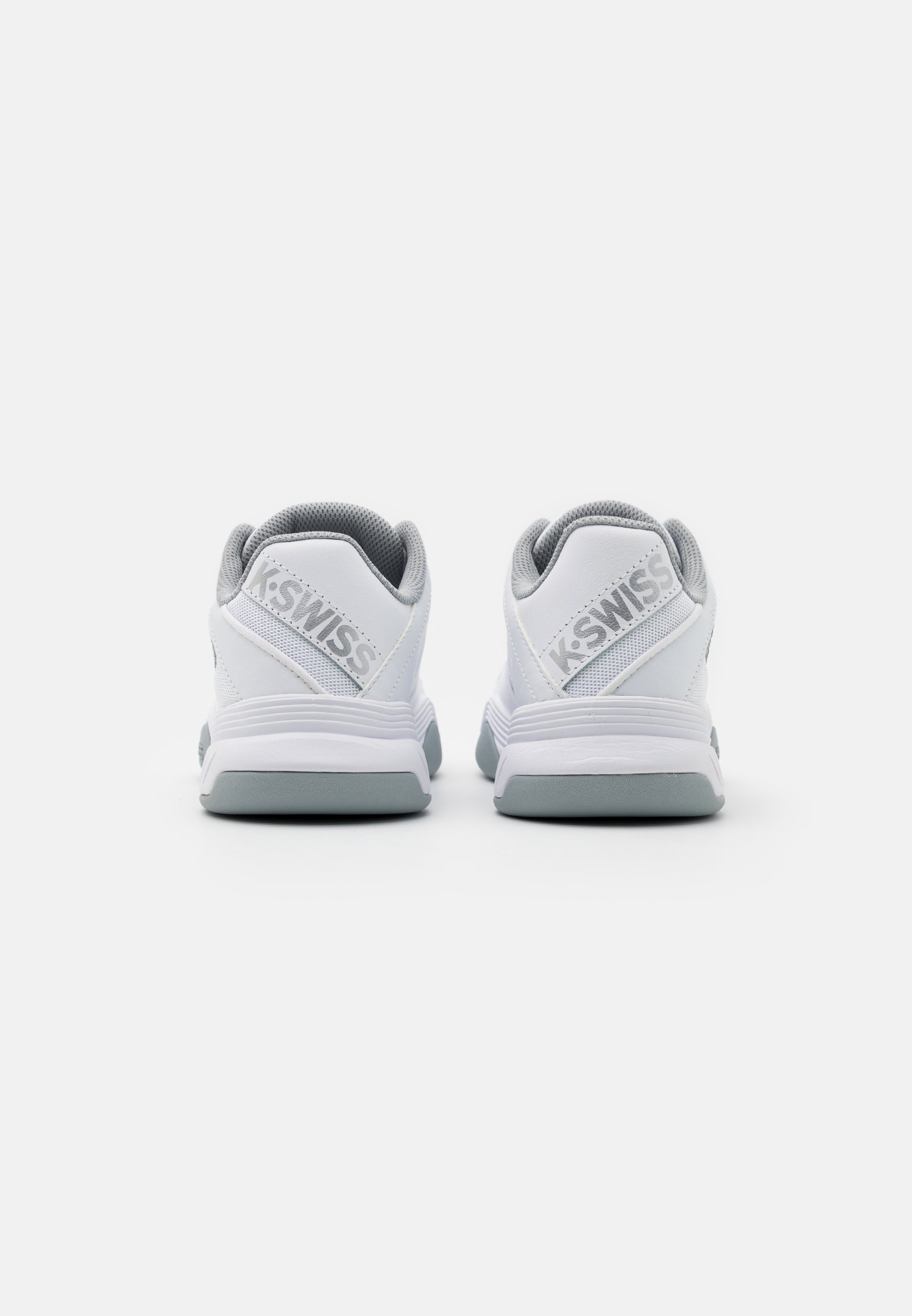 Nuovi prezzi più bassi Scarpe da Donna K-SWISS COURT EXPRESS CARPET Scarpe da tennis per terreno sintetico white/high rise/silver