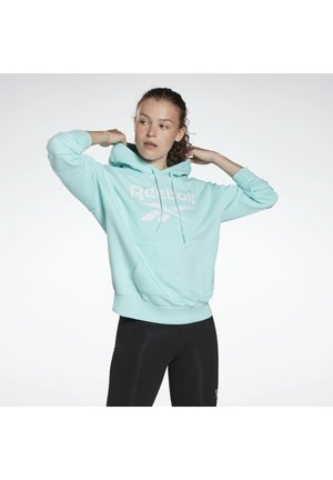 FRENCH TERRY ELEMENTS WORKOUT TRACK HOODIE - Hoodie - blue