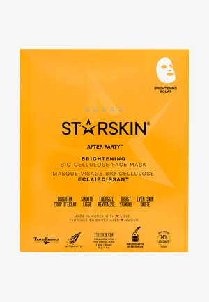 AFTER PARTY BRIGHTENING SHEET MASK - Face mask - -