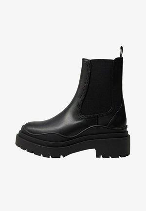 NACHO - Platform ankle boots - schwarz