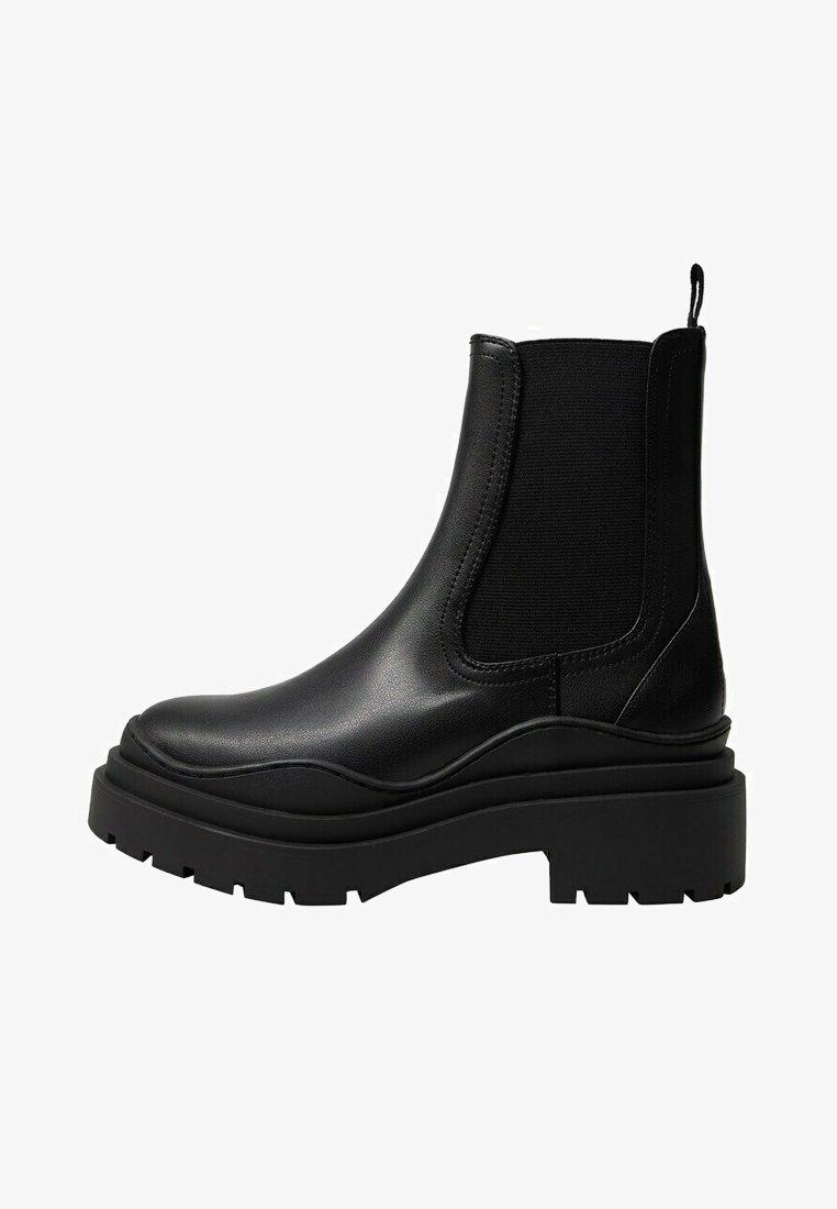 Mango - NACHO - Platform ankle boots - schwarz