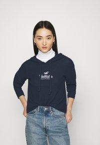 Hollister Co. - COZY HOODIE  - Jumper - navy blue - 0