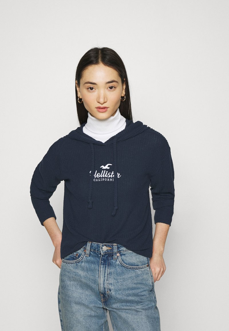 Hollister Co. - COZY HOODIE  - Jumper - navy blue