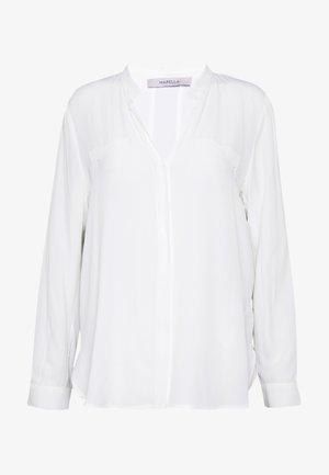 NOVARA - Button-down blouse - cream