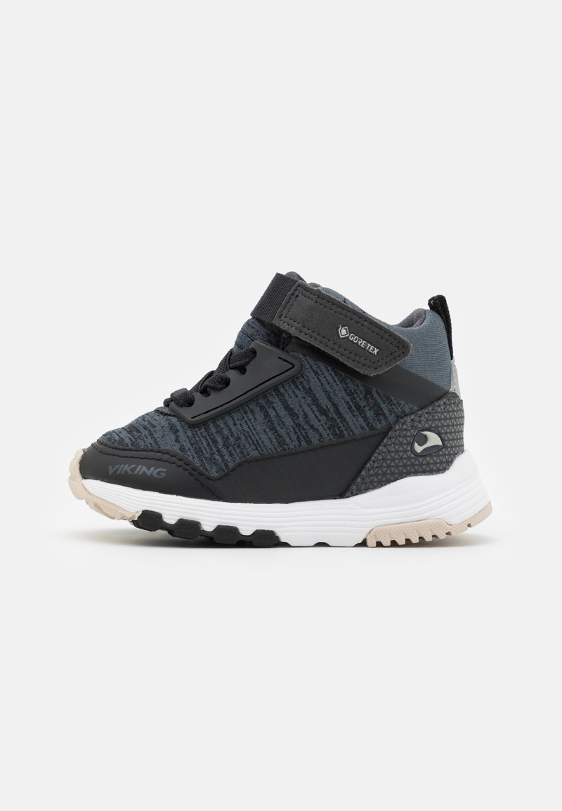 Viking - ARENDAL MID GTX UNISEX - Hiking shoes - black/charcoal