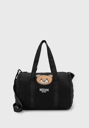 BABY CHANGING BAG SET UNISEX - Baby changing bag - black