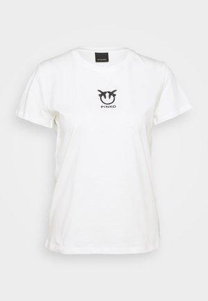 BUSSOLANO  - Camiseta estampada - white