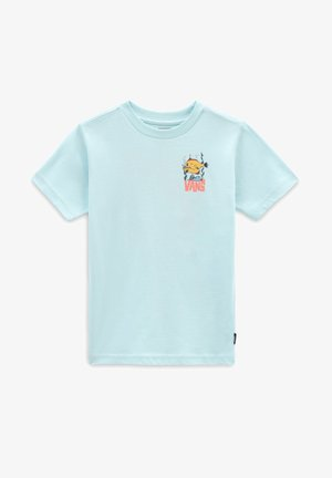 BY KIDS STO BOX SS - Print T-shirt - plume