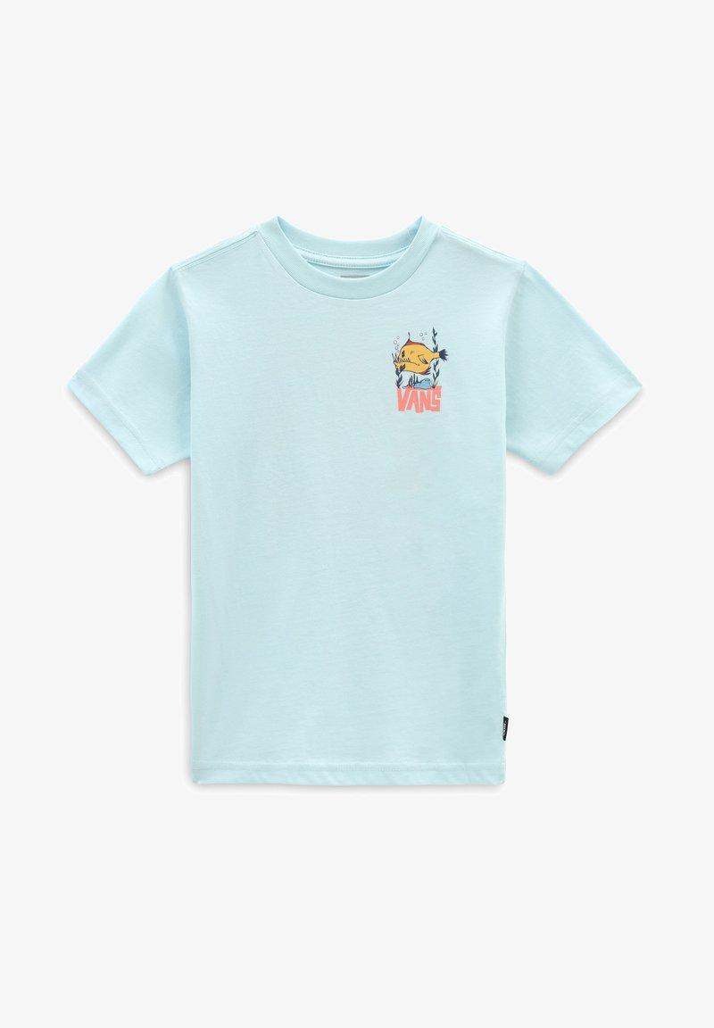 Vans - BY KIDS STO BOX SS - T-shirt med print - plume
