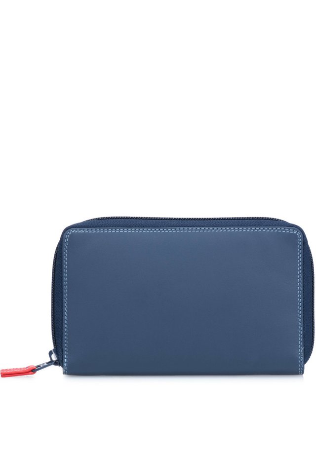 MYWALIT ZIP AROUND PURSE GELDBÖRSE LEDER 11 CM - Wallet - royal